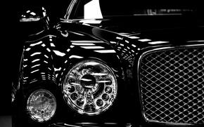 Picture machine, lights, car, Bentley Mulsanne