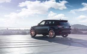 Picture Land Rover, Range Rover, Car, Sport, SUV, Wheels, Before, Rear, Garde