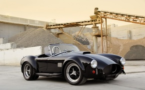 Picture Shelby, 2009, Cobra, 427, Factory, Superformance, Black car, Shelby Cobra 427 SC