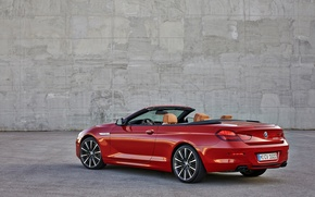 Picture BMW, BMW, Convertible, Back, 650i, 2015