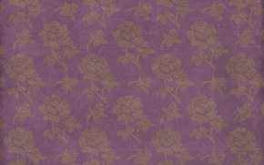 Wallpaper pattern, vintage, floral, background, texture, paper, ornament, wallpaper, floral