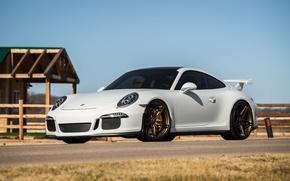 Picture Porsche, GT3, with, 991, Satin, HRE, Bronze, P107
