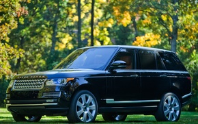 Picture Land Rover, Range Rover, Autobiography