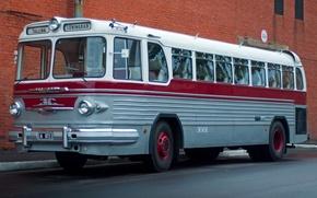 Picture bus, first, Soviet, ZiS-127, 1955–56, long distance