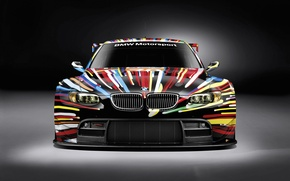Picture BMW, GT2, razrisovany, the front