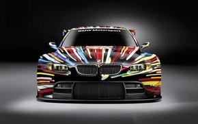Wallpaper BMW, GT2, razrisovany, the front