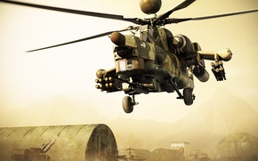 Wallpaper Combat, helicopters