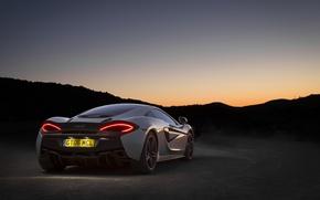 Picture McLaren, supercar, supercar, brake light, Wallpaper, back, 570GT, auto, auto, wallpaper