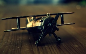 Picture style, retro, the plane, toy