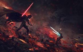 Picture Star Wars, darth vader, Lightsaber