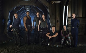 Picture The series, Movies, Dark matter, Dark Matter, the cast