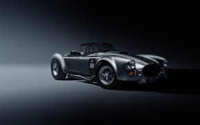 Picture Shelby, Muscle, Car, Front, Cobra, Silver, SS Customs
