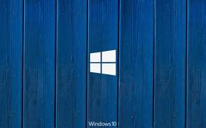 Wallpaper windows, microsoft, blue, hi-tech