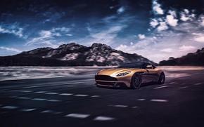 Picture Concept, Aston Martin, Light, Front, Supercar, DB11