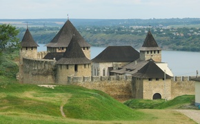 Wallpaper Ukraine, Hawtin, Chernivtsi, fortress