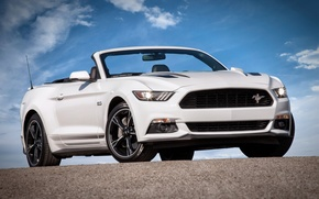 Wallpaper Mustang, Ford, Mustang, convertible, Ford, Convertible, 2015, California Special