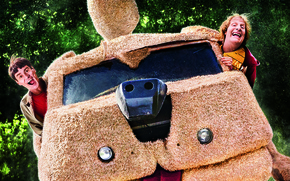 Picture car, Jim Carrey, Men, Wallpaper, Movie, Film, 2014, Funny, Adventure, Comedy, Universal Pictures, Lloyd Christmas, …
