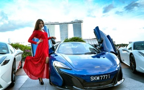 Wallpaper marina bay sands, Ed Lim, Lucky 777, mclaren, Anna