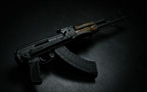 Picture machine, cartridge, USSR, Russia, shop, Kalashnikov, butt, shooting, folding, min, wallpaper., upgraded, AKMS, temp, Pat, …