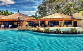 Picture water, pool, resort, transparent