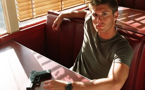 Picture actor, Jensen Ackles, Supernatural, Dean Winchester
