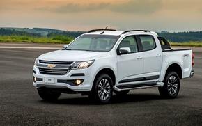 Picture white, Chevrolet, Chevrolet, pickup, S-10