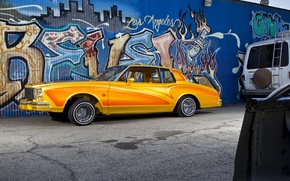 Picture lowrider, orange, mexican, hydraulics, chevrolet caprice