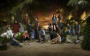 Picture greens, look, movies, Lost, The series, actors, To stay alive