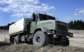 Picture SUV, truck, the SUV, kraz, military car, KrAZ