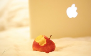 Picture light, background, Apple