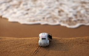 Picture sand, machine, open, surf, bokeh