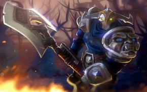 Picture sword, Game, armor, dota 2, DotA, Sven, Rogue Knight