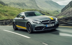 Picture Mercedes-Benz, Mercedes, AMG, Coupe, C-Class, C205