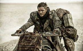 Picture postapocalyptic, Tom Hardy, Tom Hardy, Mad Max, Fury Road, Mad Max, this moment, Road rage