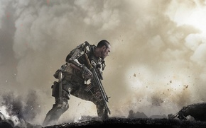 Picture CoD, Weapon, Activision, Field, Soldier, Video Game, Sledgehammer Games, Call of Duty: Advanced Warfare