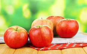 Wallpaper autumn, apples, harvest, fruit, autumn, fruits, apples, harvest
