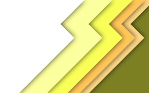 Picture white, line, yellow, abstraction, texture, green, color