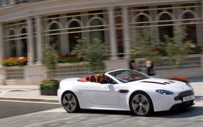 Picture Aston Martin, Vantage, convertible, V12