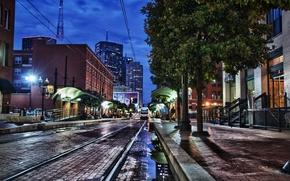 Picture city, the city, USA, USA, Texas, Dallas, Dallas, Texas
