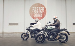 Picture Yamaha, moto, style, sport classic, XSR