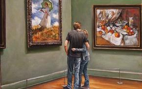 Wallpaper pair, picture, Harry McCormick, gallery, art