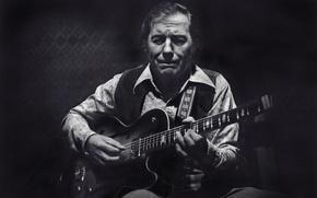Picture music, guitar, jazz, guitarist, musician, jazz musician, Chuck Wayne