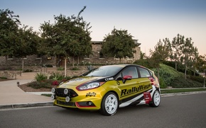 Picture Ford, Street, Fiesta, Sport, Road, RallyWays