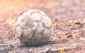 Picture the ball, bokeh, Game over