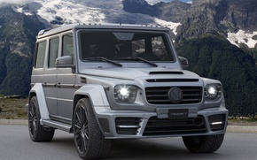 Picture mountains, Mercedes, Mansory, G-class, Gronos