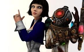 Picture BioShock, Elizabeth, Big Sister, Eleanor Lamb