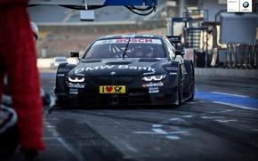 Picture BMW, racecar, DTM, 2013, pitstop, Bruno Spengler