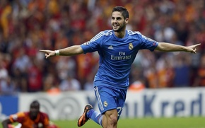 Picture goal, Real Madrid, ISCO, Isco