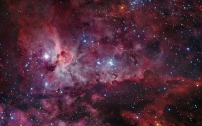 Wallpaper stars, nebula, The universe, NGC 3372, Kiel