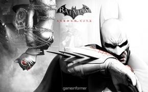 Picture The game, Batman, Batman: Arkham City, Arkham, GAME INFORMER, Cat woman